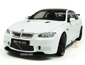 White-1-24-BMW-M3-GTS-Alloy-Metal-Diecast-Model-Sports-Car-KDW-1-24-19-5cm-8-034