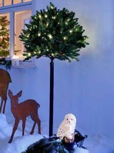 Kugel Für Tannenbaum.Details Zu Premium Kugel Tannenbaum Weihnachtsbaum Höhe 200cm Mit 120 Led Lichterkette