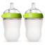 Bottle Baby Kid Breastfeeding Green Safe Hygienic Medical 8 Oz 2 Count Comotomo