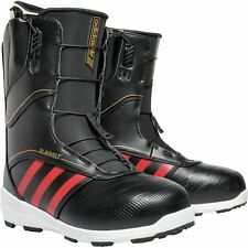 2016 NIB MENS ADIDAS JAKE BLAUVELT SNOWBOARD BOOTS  375 9 black red gold 3e4374340