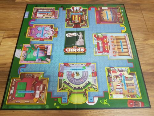 The Simpsons Cluedo Spare//Replacement Playing Board
