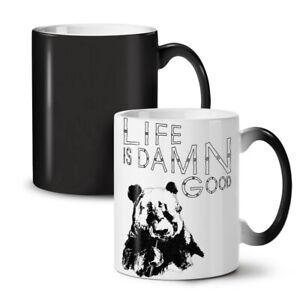 Life Is Damn Good Funny NEW Colour Changing Tea Coffee Mug 11 oz   Wellcoda