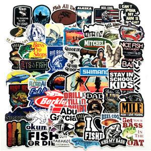 Fishing-Sticker-Pack-Bomb-Fish-Hunt-Boat-Laptop-Mac-Car-Vinyl-Decals-Bass-Pro