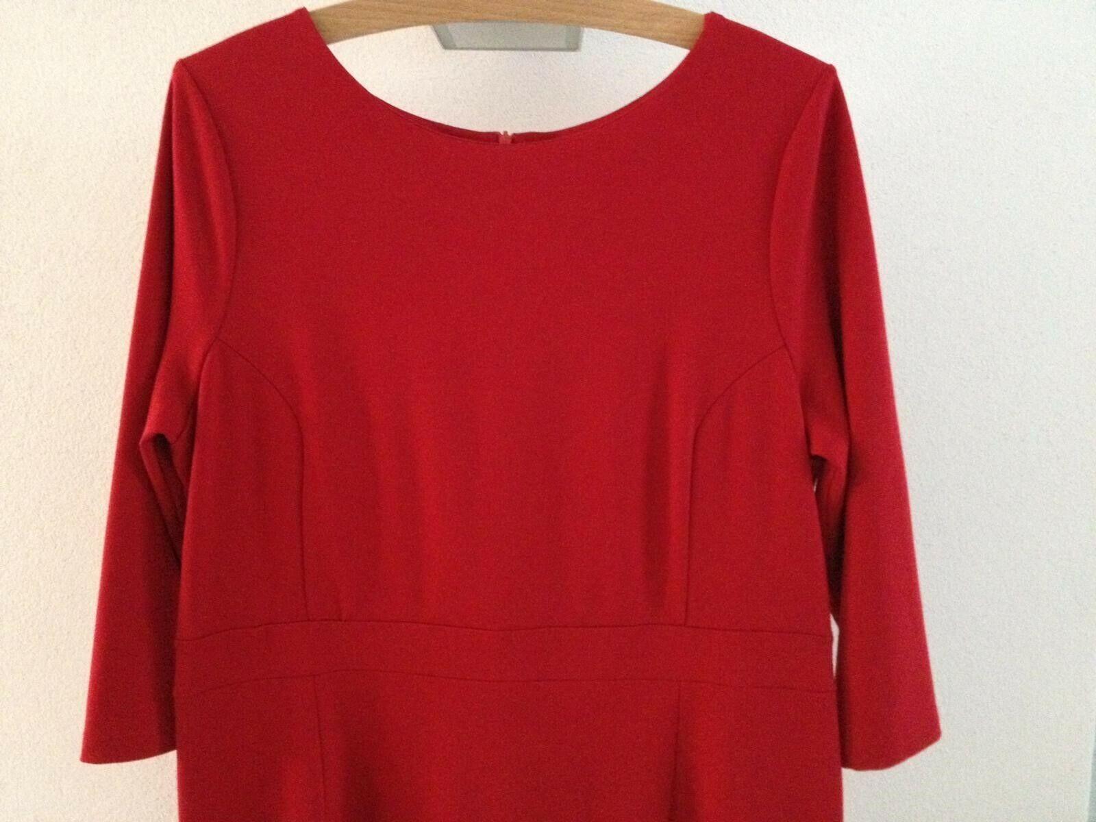 Kleid Montego Gr. 42 rot NEU