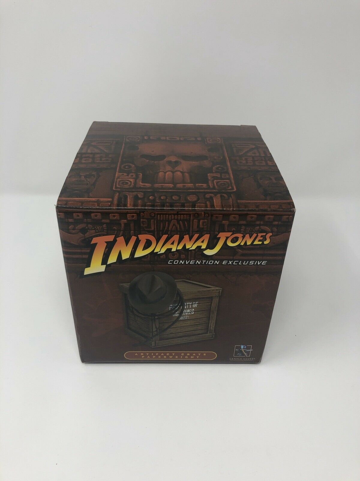 Indiana Jones Convention Exclusive Artifact Crate Paperweight Set Gentle Giant 2