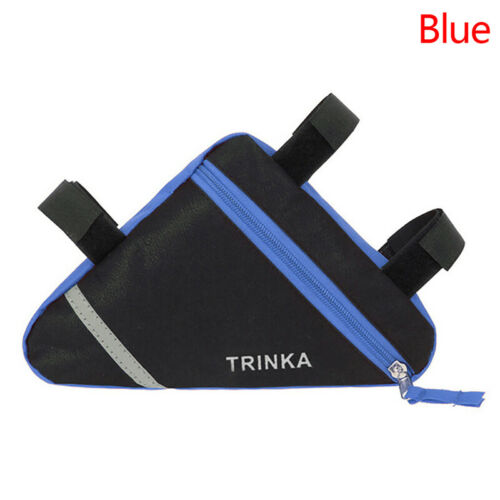 BicycleFront Frame Triangle Bag Cycling Bike Tube Pouch Holder Saddle Pannier~GN