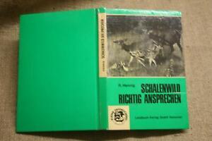 Fachbuch-Jaeger-Ansprechen-Schalenwild-Trophaeen-Jagdpraxis-Hirsche-1973