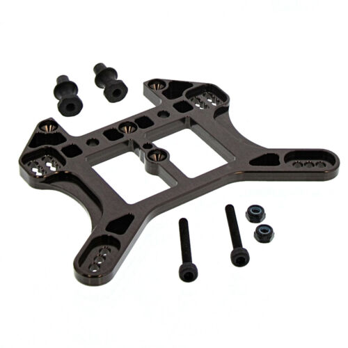 Stays Mounts Rear Aluminum Shock Tower Kyosho 4WD 1//8 Inferno MP10