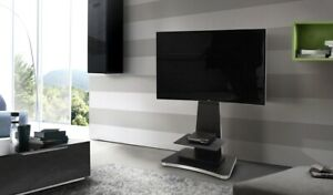 Dettagli su MOBILE A COLONNA PORTA TV NERO 50 POLLICI MUNARI SYDNEY SY390NE  MADE IN ITALY