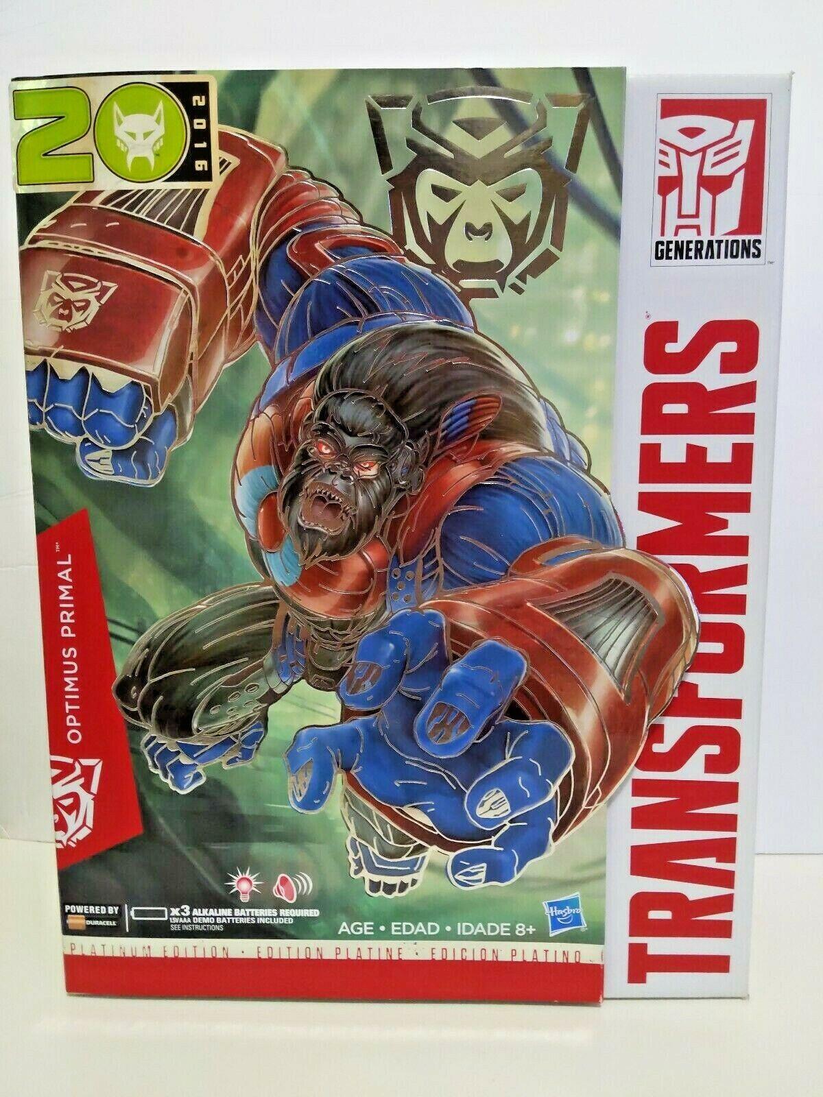 marca famosa Transformers 2016 2016 2016 Año del Mono Platinum Edition Optimus Primal  punto de venta barato