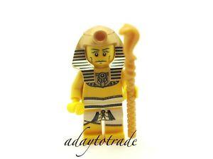 LEGO-Collectable-Mini-Figure-Series-2-Pharaoh-8684-16-COL032-R560