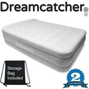 KING SIZE AIR BED BLOW UP INFLATABLE MATTRESS WITH BUILT IN ELECTRIC PUMP DOUBLE