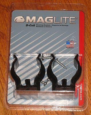Maglite  D-Cell  Mounting Bracket  LED  Black