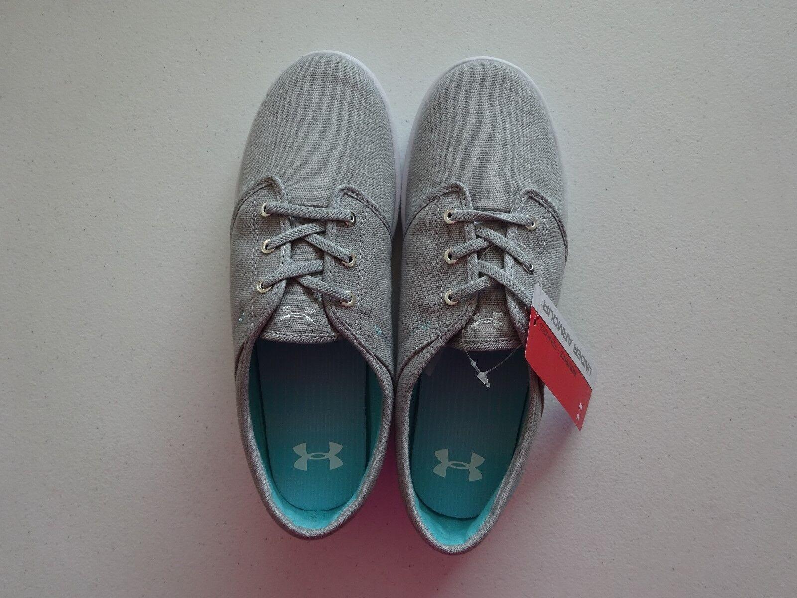 Under Armour Mujer Calle encuentro Gris/Blanco Zapatos nublado Gris/Blanco encuentro Nuevo con etiquetas 4caf5e