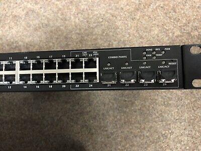 DemüTigen Powerconnect 5424 Gigabit Switch 24x + 4 Sfp 1 U Gut FüR Antipyretika Und Hals-Schnuller