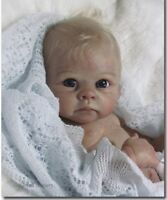 ❤️Beautiful Reborn Doll Baby❤️ Custom Made From The Harry Kit By Linda Murray❤️