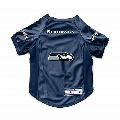 8082c85a NEW SEATTLE SEAHAWKS DOG CAT DELUXE STRETCH JERSEY | eBay