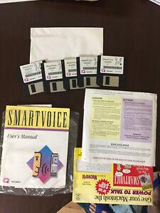Apple-Macintosh-Smartvoice-Program-User-Manual-and-Paperwork
