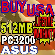 512mb ASUS P4P800-E Deluxe P4P800-MX P4PE-X RAM Memory
