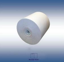 3 X 165 Bond Kitchen Printercash Registerreceipt Tape Paper 50 Rollscase