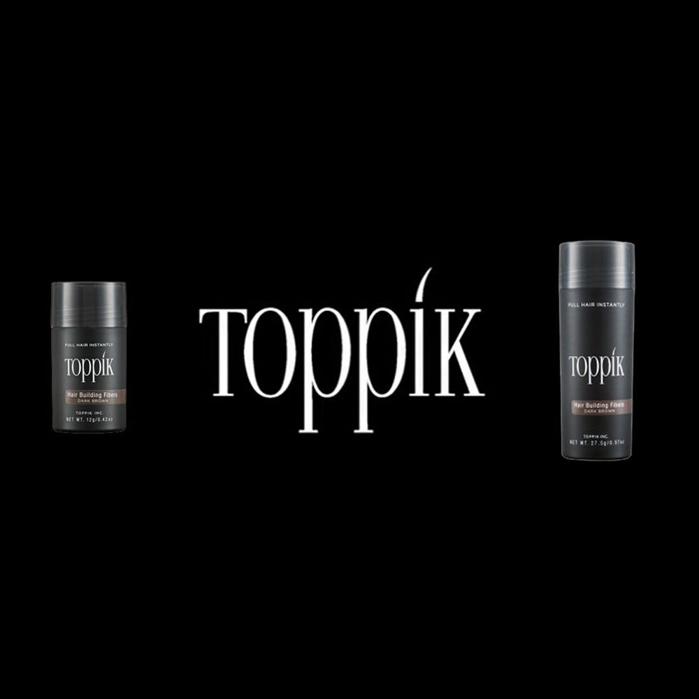 New Toppik Hair Building Fibers 9 Colors Hair Loss Solutions Concealer 27.5g 2 2 of 6 ...