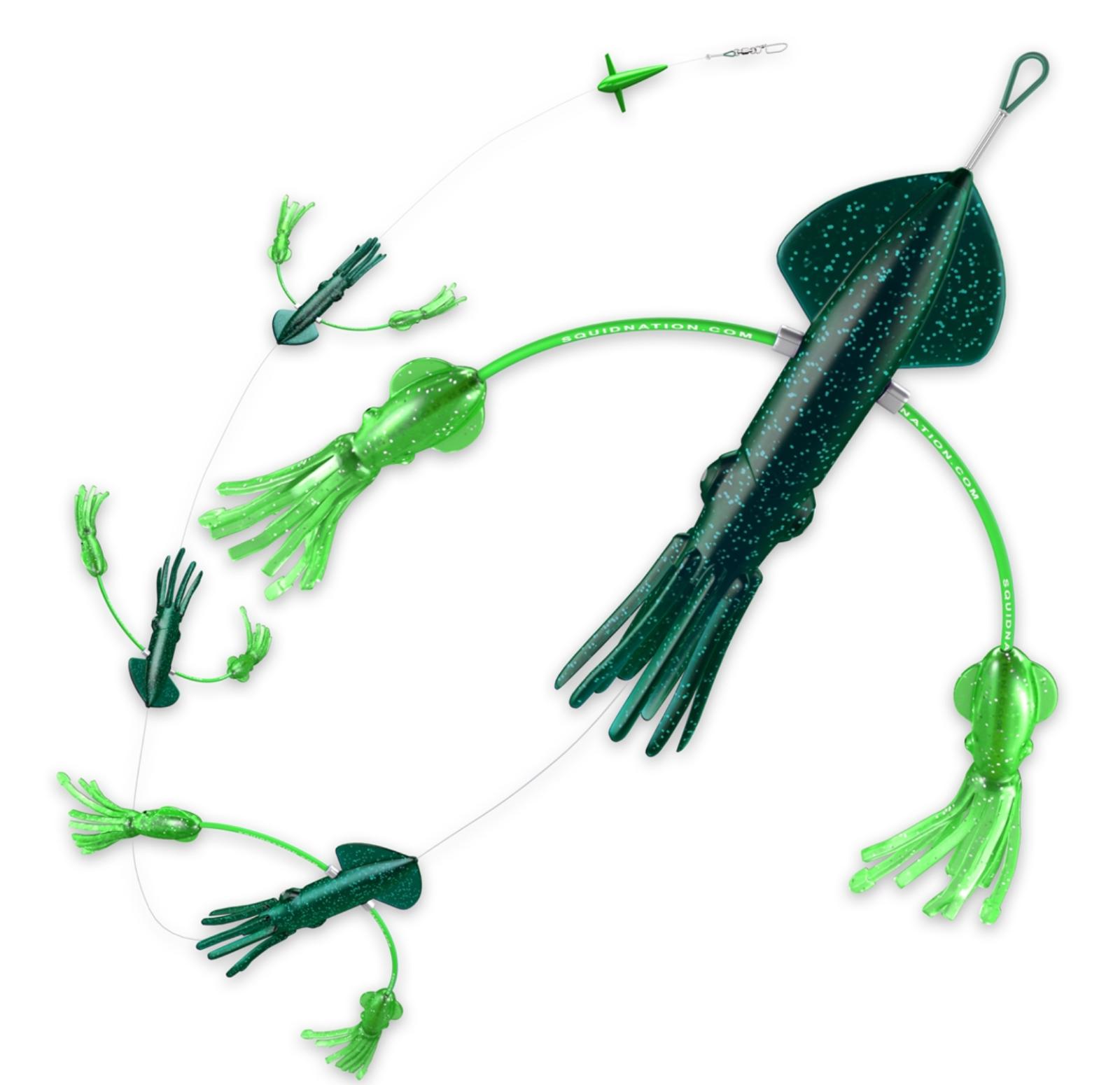 Squidnation Original Original Original Flippy Floppy Thing Tuna Marlin Magnet Daisy Chain Teaser bac083