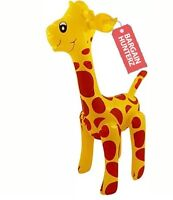 Large 59cm INFLATABLE GIRAFFE Zoo Animal Blow Up Inflate Party Toy Novelty UK