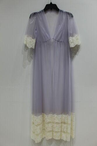 Lisette women's S vintage sheer night gown one bot