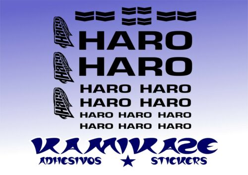 ADHESIVE STICKER STICKER AUTOCOLLANT ADESIVI AUFKLEBER DECAL KIT BIKE MTB HARO