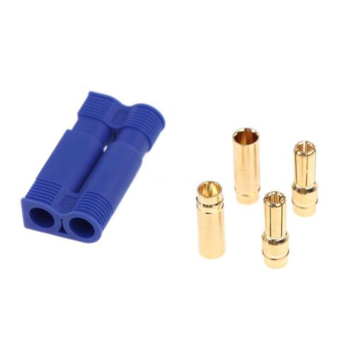NEW 5Pairs EC5 Device Connector Plug fits RC Car Plane Helicopter Battery Lipo