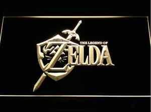 Legend of Zelda Video Game LED Neon Light Sign Man Cave Gaming Gear 7 colors