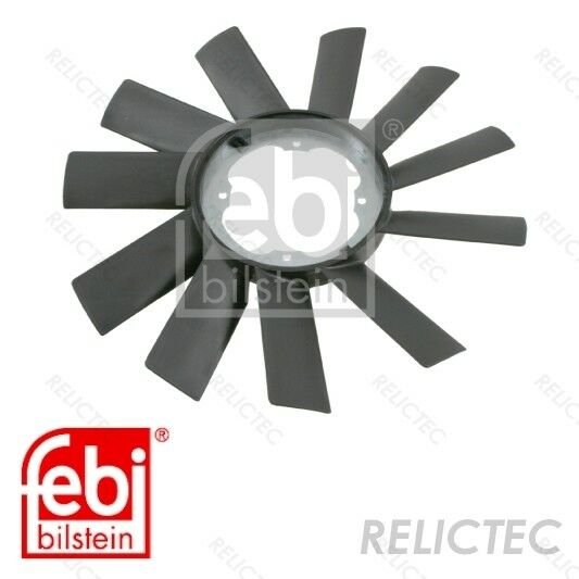 BMW E36 E39 Z3 Engine Cooling Fan Blade SWAG Germany OEM Quality 11521723363