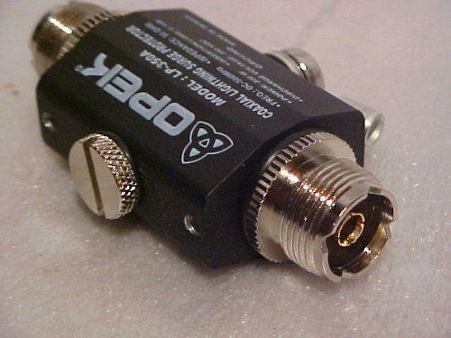 Opek Lp 350a Lightning Static Surge Protector Cb Ham Radio Antenna 50 Ohm For Sale Online Ebay