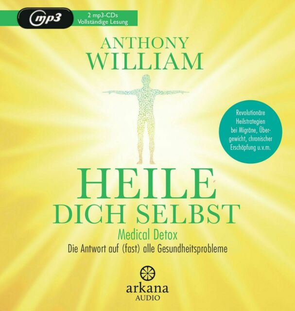 Heile dich selbst - Anthony William (2 mp3-CDs) NEU&OVP!!! 2020