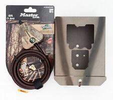 Security box fits Bushnell Trophy Cam HD Essential E2 Cam 119836C W/Python Cable