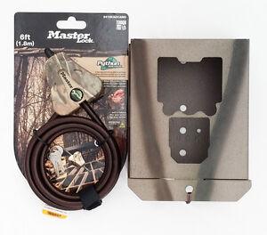 Security-box-fits-Bushnell-Trophy-Cam-HD-Essential-E2-Cam-119836C-W-Python-Cable