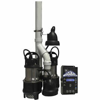 Ion Power Pac 1/3 Hp Stainless Steel Duplex Sump Pump System W/ Ion Genesis C... on sale