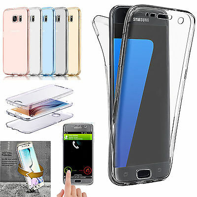 best service fb564 e13f1 Samsung Galaxy S7 Edge Shockproof TPU 360 Full Protective Rubber Soft Case  Cover