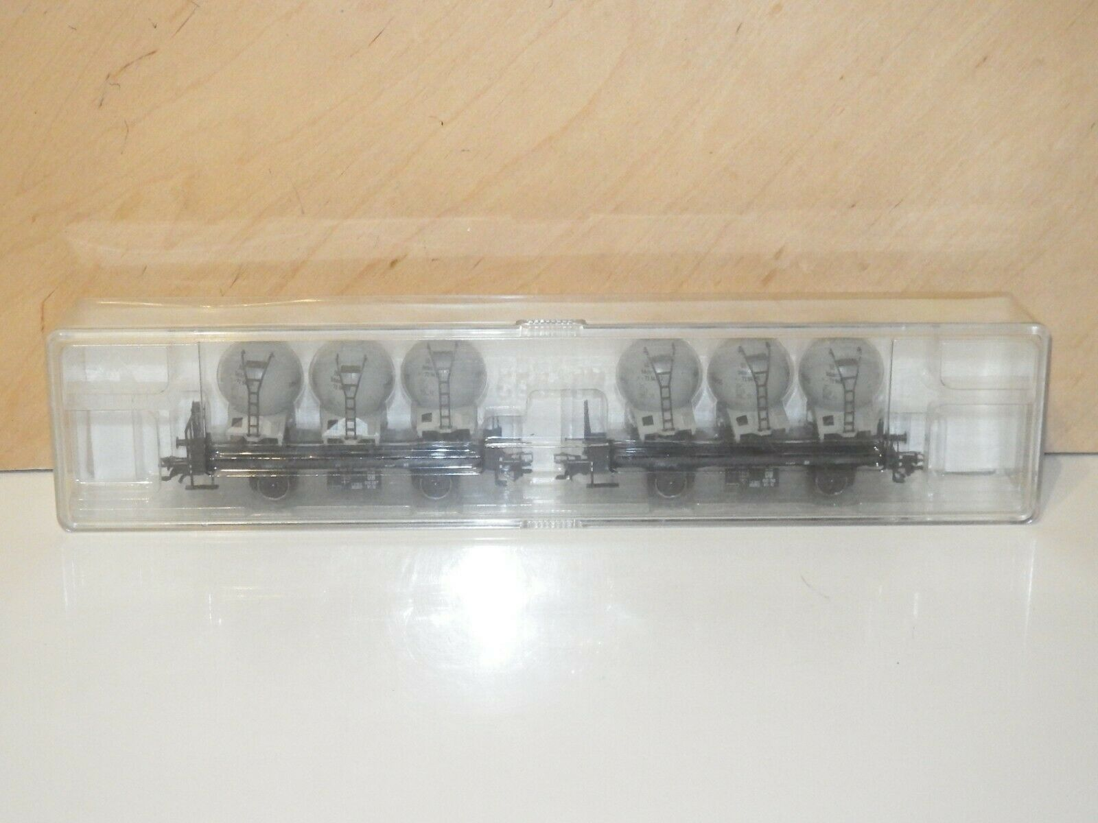 H0 Trix 24023 CONTAINER LOAD WAGON SET 2 Pieces DB MINT BOXED 3178
