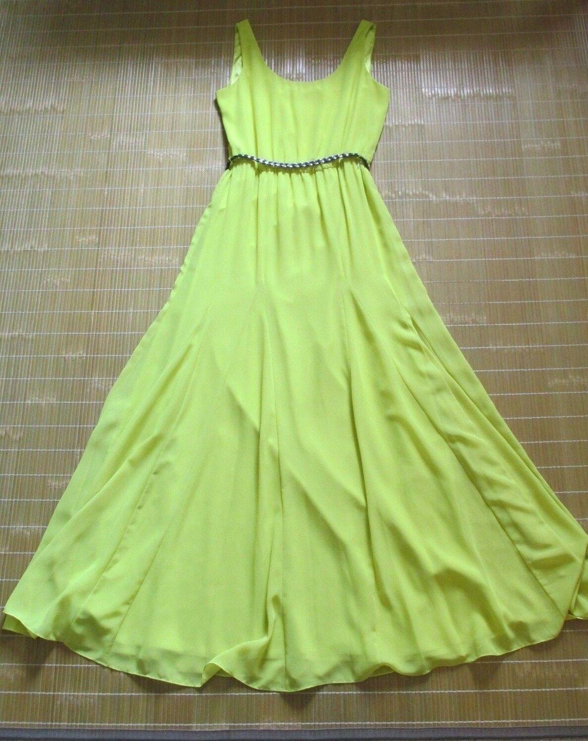 Gianni Bini Kiwi Farbe Long Dress (Größe S)