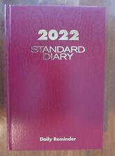 New Listingat A Glance 2020 Standard Diary Daily Red