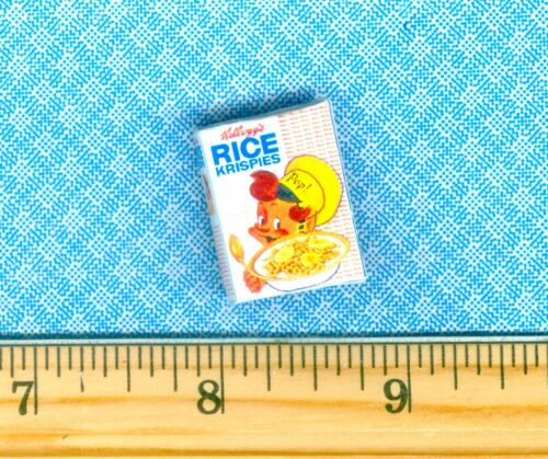 Dollhouse Miniature size VINTAGE Cereal BOX # RK