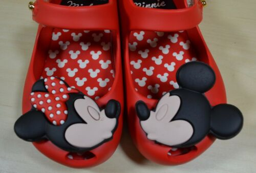 Mini Melissa Ultra Girl Disney Twins Girl/'s Mary Jane Shoes in Red