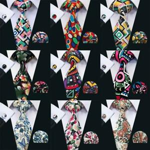 007210598cbb Details about Handmade Mens Ties Red Blue Purple White Cotton Floral Tie  and Pocket Square Set