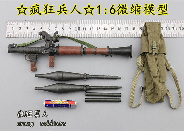 Conjunto de granada propulsadas por cohetes para I80112 Afganistán civil Fighter donado DID escala 1 6 Figura De Acción