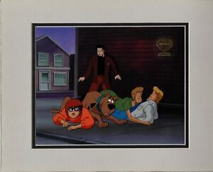 Scooby Doo Original Production Animation Art Cell Hanna Barbera 1999 8241