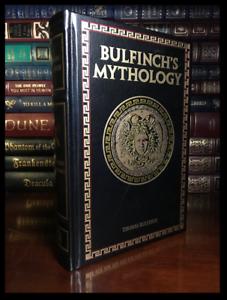 Bulfinch-039-s-Mythology-by-Thomas-Bulfinch-Brand-New-Deluxe-Leather-Bound-Hardback
