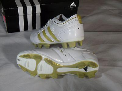 ce66e90b50e New Womens Adidas Adinova TRX FG Soccer Cleats Boots White Gold size 5 US  404274