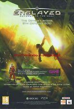 "Enslaved Odyssey To The West ""Autumn 2010"" 2010  Magazine Advert #4573"