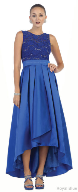 Special Occasion DESIGNER Prom Simple Evening Gown Flowy Bridesmaids ...